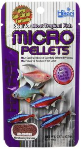 Hikari Tropical Semi-Floating Micro Pellets for Pets, 0.77-Ounce