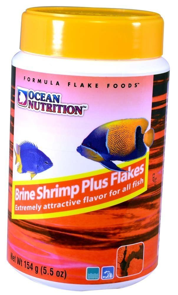 Ocean Nutrition Brine Shrimp Plus Flake 5.5 oz.